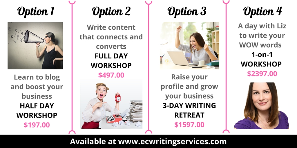 Work with Elizabeth Campbell The Word Stylist and EC Writing Services Founder