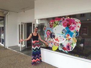 The first 2016 blogging working in Brisbane with Elizabeth Campbell