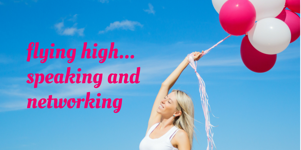 Flyinghigh...speakingand networking / EC Writing Services / ELizabeth Campbell 0427 366 824