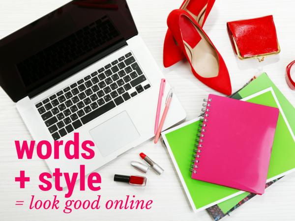 words + style look good online EC Writing Services 0427 366 824
