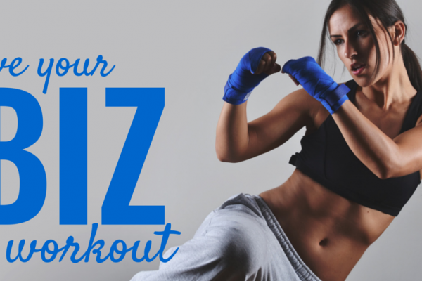 Give your biz a workout Learn how to write online content that rocks and gets results, EC Writing Services, Elizabeth Campbell
