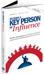 Key Person of Influence KPI Daniel Priestley