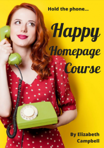 Do the Happy Homepage FREE eCourse Today EC Writing Services Elizabeth Campbell
