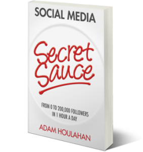 EC Writing Services - Secret Sauce Adam Houlahan's social media book