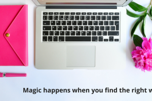 Write wow words on teh web effectively and watch the magic that happens! Elizabeth Cmapbell, EC Writing Services