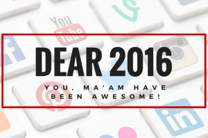 2016 has been an amazing year full of blogging workshops and events, but 2017 will be better writes Elizabeth Campbell