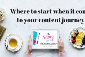 Where to start when it comes to your content journey!