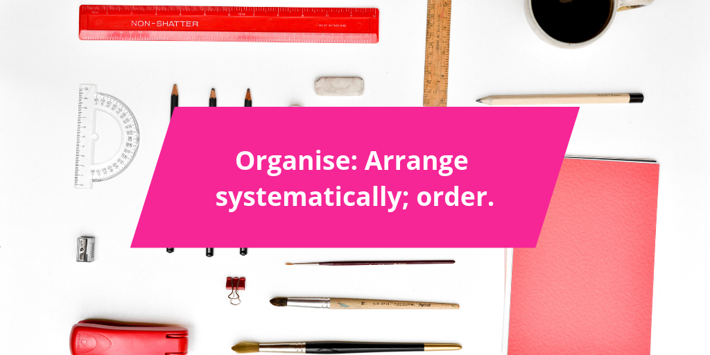 Marie Kon your content: Get organised Marie Kondo style - A plan is just one way!