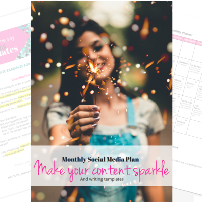 Get your free Monthly Social Media Planner!