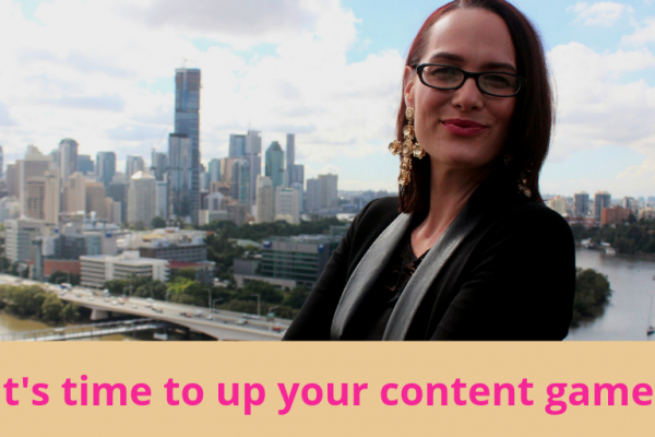 It's time to up your content game and be consistent, writes Elizabeth Campbell