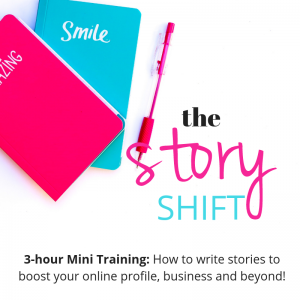 The Story Shift Story Writing Workshop - Elizabeth Campbell