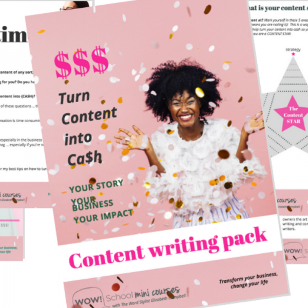 Content writing pack - free - The Content Writing Shop
