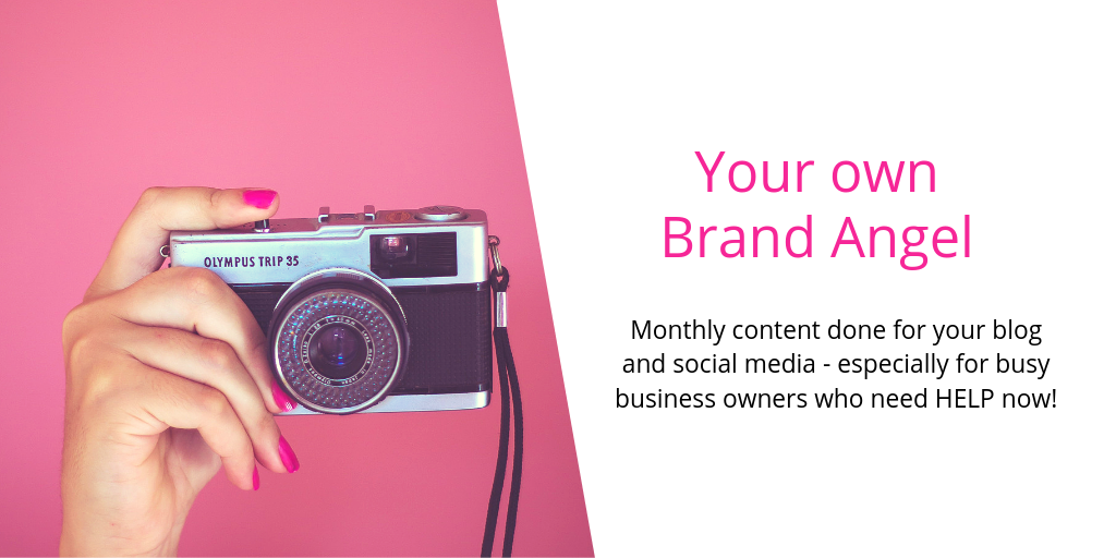 Brand Angels blog and social media writing service