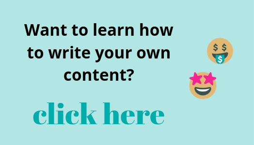 Learn how to write content with Elizabeth Campbell