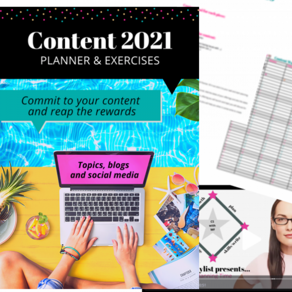 Content Strategy Training and Template Bundle Wow School Global EC Writing Services Elizabeth Campbell