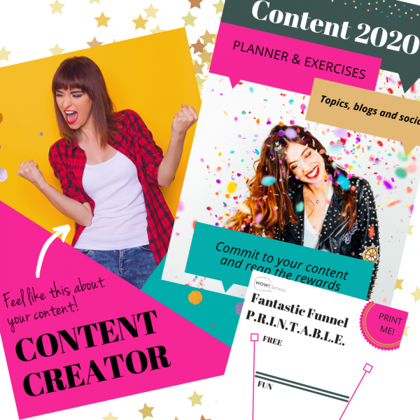 Content Map and Plan, Content Funnel and Content Creator Bundle EC Writing Services
