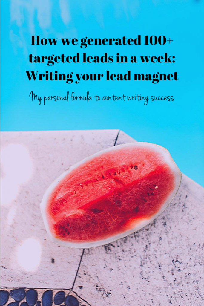 How to write a lead magnet that gets sales