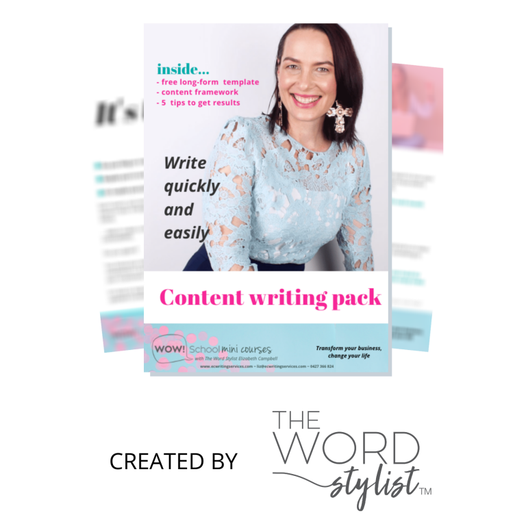 Website Content Writing pack - EC Writing Services