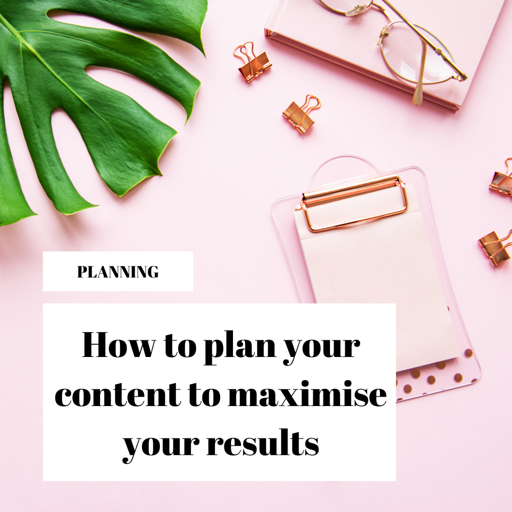How to plan your content - Wow Words Membership