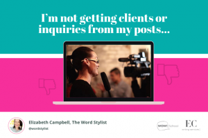Copywriting FAQs: What's frustrating business owners like you? | copywriting courses | Elizabeth Campbell