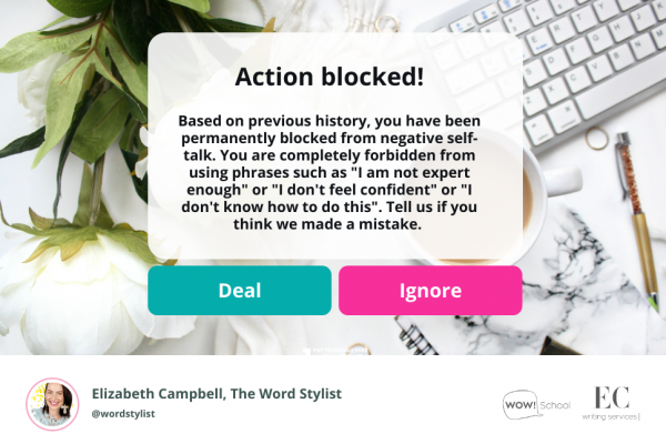 Content not working any more? Here's the reason why | Elizabeth Campbell Wow School Global