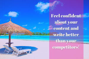 How to write better content than your competitors | Elizabeth Campbell Wow School Global