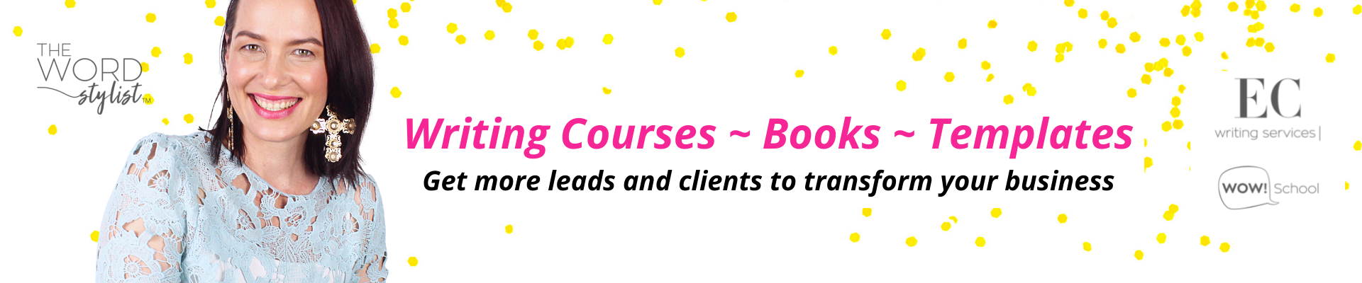 EC Writing Services - Making content writing easy for busy business owners to get more clients
